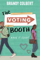 The Voting Booth, YA book from BIPOC author Brandy Colbert