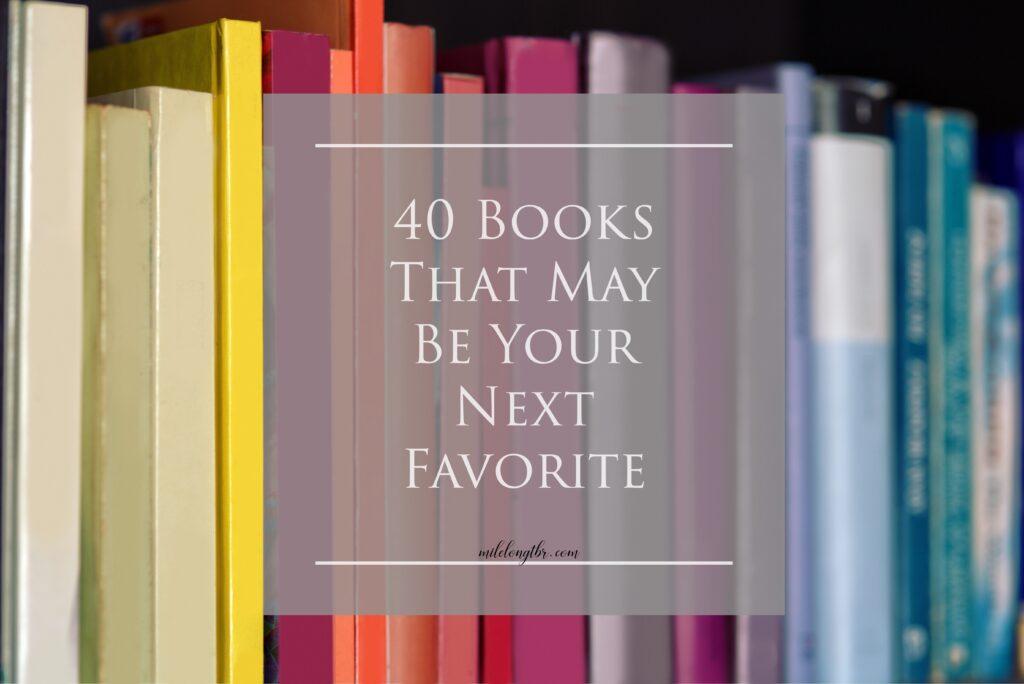 must read favorite books