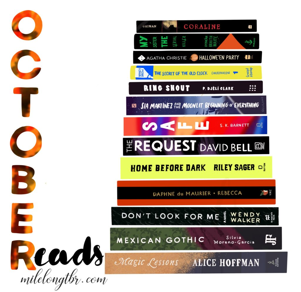 October Reads 2020 Spooky